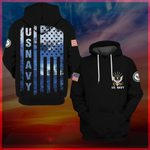 Hihi Store hoodie S / Hoodie Us Navy All Over Printed Shirts 061108