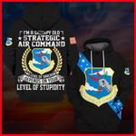 Hihi Store hoodie S / Hoodie US Veterans I'm a grumpy old Strategic Air Command SAC 061308