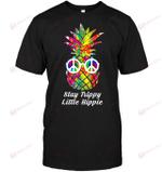 GearLaunch Apparel Unisex Short Sleeve Classic Tee / Black / S M010319 hippie stay trippy little hippie