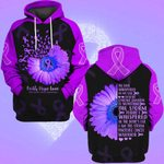 Hihi Store hoodie S / Hoodie Faith Hope Love Pancreatic Cancer Awareness 0819019