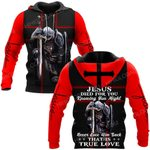 Hihi Store hoodie S / Hoodie Jesus God Jesus died for you That is true love ALL OVER PRINTED SHIRTS