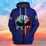 Hihi Store hoodie S / Zip Hoodie US Coast Guard All Over Printed Shirts 031205