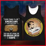 Hihi Store hoodie XXS / Tank Top US Navy USS Abraham Lincoln (CVN72) All Over Printed Shirts 052202