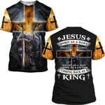 Hihi Store hoodie S / T Shirt Jesus comeback as a King  ALL OVER PRINTD SHIRTS 090607