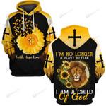 Hihi Store hoodie S / Hoodie Faith Hope Love I am a child of God 090301