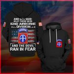 Hihi Store hoodie S / Hoodie 82nd Airbone Division All Over Printed Shirts 062004