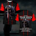 Hihi Store hoodie S / T Shirt I am on team Jesus not religious 082903