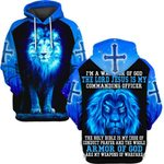Hihi Store hoodie S / Hoodie The Lord Jesus is my commanding officer ALL OVER PRINTD SHIRTS 090904