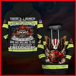 Hihi Store hoodie S / Hoodie Us Firefighter There's a bunch of us Grumpy old men All Over Printed Shirts 053001