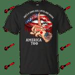 CustomCat T-Shirts Black / S Us Firefighters  Gildan Ultra Cotton T-Shirt