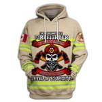 Hihi Store hoodie S / Hoodie Canadian Firefighter shirt 022302