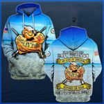 Hihi Store hoodie S / Hoodie I'm a grumpy old Navy Veteran All Over Printed Shirts 052303