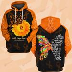 Hihi Store hoodie S / Hoodie Faith Hope Love MS Awareness 081907