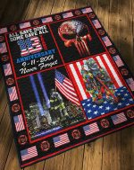 Hihi Store hoodie Us Firefighter 0911 Never Forget Quilt 080801