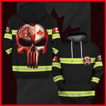 Hihi Store hoodie S / Hoodie Canadian Firefighter  All Over Printed Shirts 053003