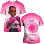 Hihi Store hoodie S / T Shirt Faith Hope Love Breast Cancer Awareness 082005