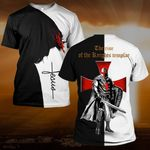 Hihi Store hoodie S / T Shirt Jesus God The rise of the Knights templar ALL OVER PRINTD SHIRTS