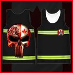 Hihi Store hoodie XXS / Tank Top Canadian Firefighter  All Over Printed Shirts 053003