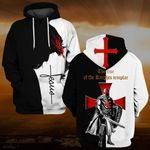 Hihi Store hoodie S / Hoodie Jesus God The rise of the Knights templar ALL OVER PRINTD SHIRTS