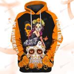 Hihi Store hoodie S / Hoodie Faith Hope Love MS Awareness ALL OVER PRINTED SHIRTS