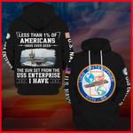 Hihi Store hoodie S / Hoodie USS Enterprise (CVN-65) All Over Printed Shirts 052003