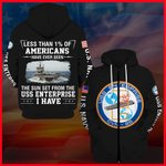 Hihi Store hoodie USS Enterprise (CVN-65) All Over Printed Shirts 052003
