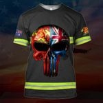 Hihi Store hoodie S / T Shirt Australian Firefighter All Over Printed Shirts 030703