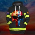 Hihi Store hoodie S / Hoodie Australian Firefighter All Over Printed Shirts 030703