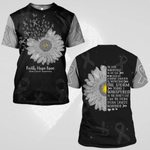 Hihi Store hoodie S / T Shirt Faith Hope Love Brain Cancer Awareness 0819011