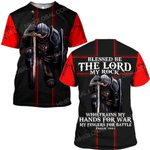 Hihi Store hoodie S / T Shirt God Jesus trains my hands for war and my fingers for battle  ALL OVER PRINTED SHIRTS