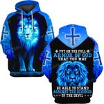 Hihi Store hoodie S / Hoodie Jesus God God is at my end  ALL OVER PRINTED SHIRTS