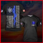 Hihi Store hoodie S / T Shirt Emergency medical technician (EMT)  All Over Printed Shirts 062408