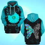 Hihi Store hoodie S / Hoodie Faith Hope Love Leukemia Cancer Awareness 0819016