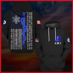 Hihi Store hoodie S / Hoodie Emergency medical technician (EMT)  All Over Printed Shirts 062408