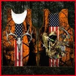Hihi Store hoodie XXS / Tank Top Grim Reaper Bow Hunter Camo All Over Printed Shirts 052403