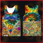 Hihi Store hoodie XXS / Tank Top Hippie On a dark desert highway cool wind in my hair All Over Printed Shirts 040302