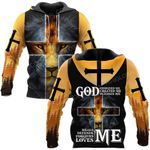 Hihi Store hoodie S / Hoodie Lord Jesus heals defends forgives and loves me  ALL OVER PRINTED SHIRTS