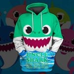 Hihi Store hoodie XS / Hoodie Uncle Shark All Over Printed Shirts