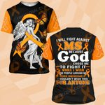 Hihi Store hoodie S / T Shirt Faith Hope Love MS awareness ALL OVER PRINTED SHIRTS