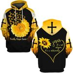 Hihi Store hoodie S / Hoodie Faith Hope Love Jesus it;s not religion it's a realtionship 083006