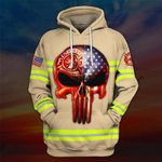 Hihi Store hoodie S / Hoodie US Firefighter All Over Printed Shirts 031206