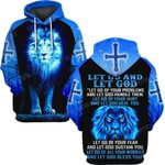 Hihi Store hoodie S / Hoodie Jesus God Let go and let God  ALL OVER PRINTD SHIRTS