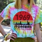 Hihi Store hoodie S / T Shirt Hippie Stonewall The fist Pride was a riot All Over Printed Shirts 062608