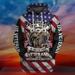Hihi Store hoodie S / Hoodie Veterans are my Brothers and Sisters All Over Printed Shirts 050201