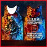 Hihi Store hoodie XXS / Tank Top Us Firefighter All Over Printed Shirts 060411