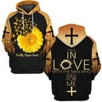 Hihi Store hoodie S / Hoodie I fell in love with the man who died for me 090302