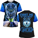 Hihi Store hoodie S / T Shirt Fight me if you wish 090405