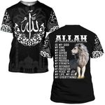 Hihi Store hoodie S / T Shirt Allah is my God my everything 091202