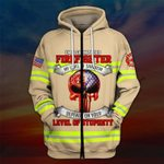 Hihi Store hoodie S / Zip Hoodie US Firefighter All Over Printed Shirts 031207