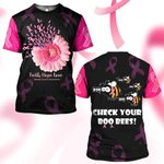 Hihi Store hoodie S / T Shirt Faith Hope Love Breast Cancer Awareness 081301